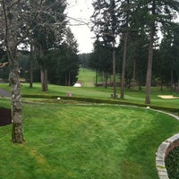 Photo taken at Canterwood Golf And Country Club by Dan H. on 3/14/2013