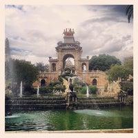 Foto tirada no(a) Parc de la Ciutadella por Alejandra C. em 5/28/2013
