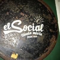 Photo taken at El Social by Ricardo P. on 7/13/2013