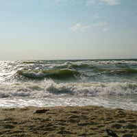 Photo taken at Beach by Елена М. on 8/24/2014