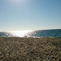 Photo taken at Beach by Елена М. on 6/30/2014