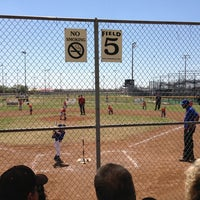 Photo taken at Forney Baseball Complex by Noémi M. on 3/29/2014
