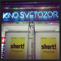 Photo taken at Kino Světozor by Lee R. on 1/19/2013