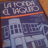 Photo taken at La Fonda El Taquito Mexican Restaurant by Gary M. on 9/10/2013