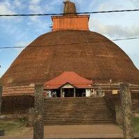 Photo taken at Jetavana Stupa by Максим Ф. on 7/8/2016