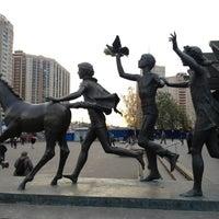 Photo taken at metro Pionerskaya by 🍏Stina on 10/19/2012