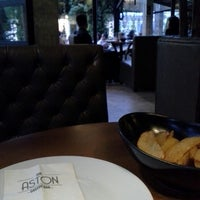 Photo Taken At Aston Dining Room Ampamp Bar By Auise S