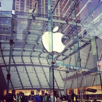Photo taken at Apple Upper West Side by Rich P. on 4/1/2013