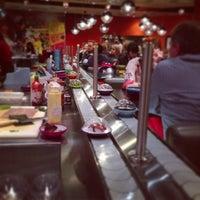 Photo taken at YO! Sushi by Rich P. on 5/17/2013