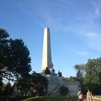 Photo taken at Oak Ridge Cemetery by Vivian N. on 8/27/2013