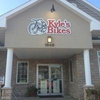 Photo taken at Kyle's Bikes by Vivian N. on 8/12/2013