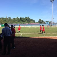 Photo taken at Stadion Datu Adil by Herry F. on 11/14/2013