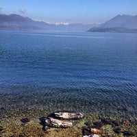 Photo taken at Lungolago di Stresa by Paolo G. on 3/10/2013