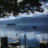 Photo taken at Verbania by Paolo G. on 3/10/2013