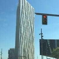 Photo taken at Torre Telefònica Diagonal 00 (CAT HQ) by Richard C. on 7/3/2017