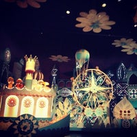 Photo taken at it's a small world by John I. on 3/13/2013