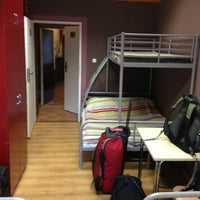 Photo taken at Kanonia Hostel Warsaw by Wessel S. on 8/16/2013