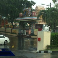 Photo taken at Sri Raja Rajeswary Temple by Enida J. on 12/12/2013