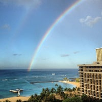 Photo taken at Hilton Hawaiian Village Waikiki Beach Resort by Janet R. on 11/6/2012