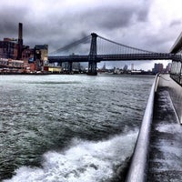 Photo taken at East River Ferry by William C. on 9/18/2012