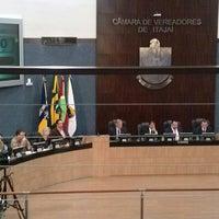 Foto tirada no(a) Câmara de Vereadores de Itajaí por Leandro Vinícius H. em 9/11/2013