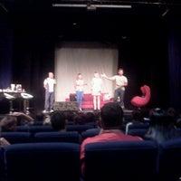 Photo taken at Teatro Silvio Romero by Andre G. on 11/4/2012