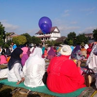 Photo taken at Lapangan Kentungan by tHeea W. on 8/8/2013