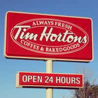 Photo taken at Tim Hortons by Chad B. on 9/24/2013
