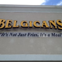 Photo taken at Belgicans by Christine L. on 8/9/2013