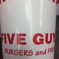 Photo taken at Five Guys by Eduardo P. on 5/3/2013