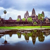 Photo taken at Angkor Wat by Eiríkr J. W. on 7/7/2013
