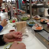 Photo taken at YO! Sushi by Andrew K. on 5/25/2013