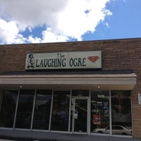 Photo taken at Laughing Ogre by Michael on 8/4/2013