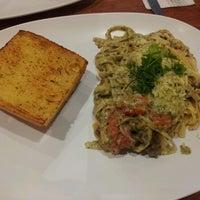 Photo taken at Mia Za's Café by Monica C. on 11/3/2012