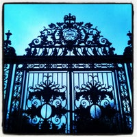 Photo taken at Hampton Court Palace Gardens by Chaffro on 3/16/2013