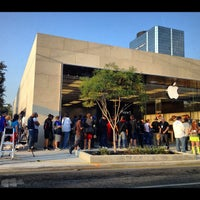 Photo taken at Apple Store by Sterling P. on 9/21/2012