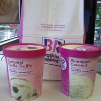 Photo taken at Baskin-Robbins by Ale J. on 9/16/2012