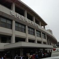 Photo taken at Sendai City Athletic Stadium by Taka on 5/11/2013