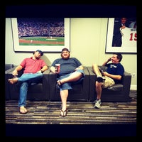 Photo taken at Braves Clubhouse by Lindsay on 9/28/2012