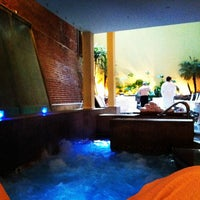 Photo taken at Great Jones Spa by Lindsay on 12/11/2012