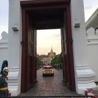 Photo taken at Wiset Chai Si Gate by PiyatdPalm on 10/23/2017