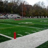 Photo taken at Jack H Britt Memorial Stadium by Dylan W. on 11/3/2012