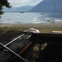 Photo taken at Bagno publico Locarno by Thomas H. on 8/5/2017
