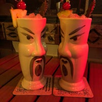Photo taken at Ventiki Polynesian Dining & Cocktails by Steve L. on 3/18/2018