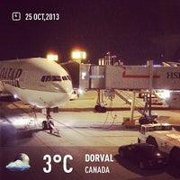 Photo taken at Montréal–Pierre Elliott Trudeau International Airport (YUL) by Mohammed A. on 10/26/2013