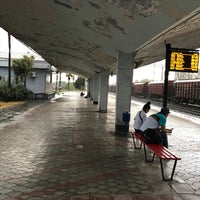 Photo taken at Kobuleti Railway Station   ქობულეთის რკინიგზის სადგური by Rik_Mk4 on 9/28/2017