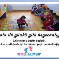 Photo taken at Minik Adımlar Kreş & Anaokulu by Veli VURAL on 2/11/2015