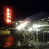 Photo taken at Ray's Boathouse by Chris C. on 10/29/2012