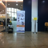 Photo taken at Bank Mandiri by Joshua S. on 6/3/2013