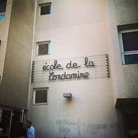 Photo taken at Ecole De La Condamine by Mdame N. on 9/29/2014